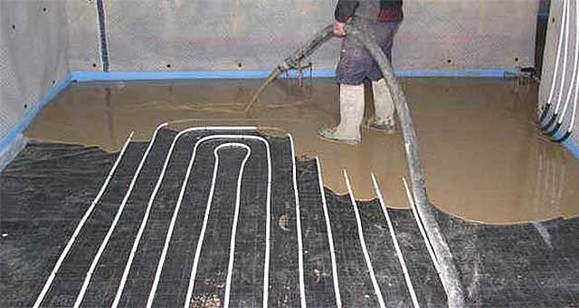 AR Pumpcrete Floor Sceeding