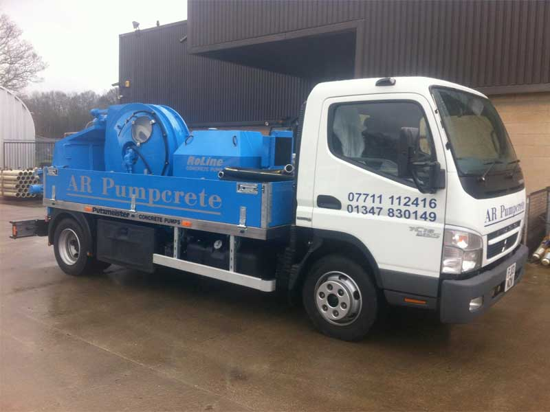 AR Pumpcrete Boroughbridge Truck