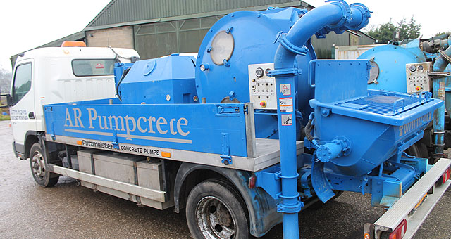AR pumpcrete Putzmiester Trained