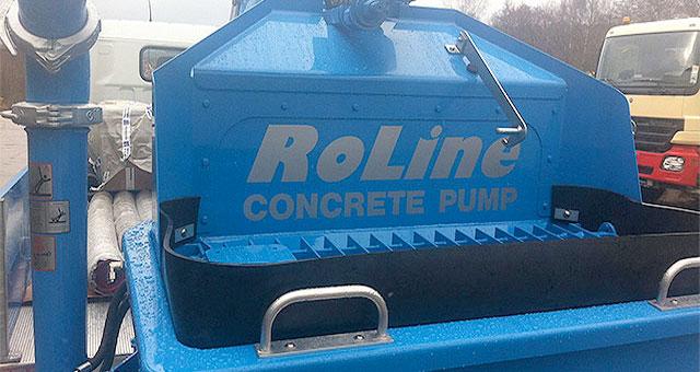 AR Pumpcrete Roline Concrete Pumping