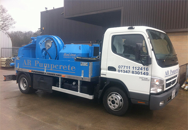 AR Pumpcrete Mobile Concrete Pumps